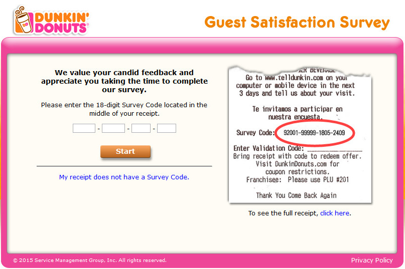 Love Donuts? Get Them Free with Dunkin Donut Survey