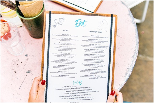 How to Make a Restaurant Menu from Scratch in 10 Steps
