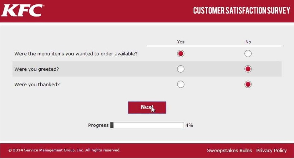KFC Survey at MyKFCExperience | All You Need To Know