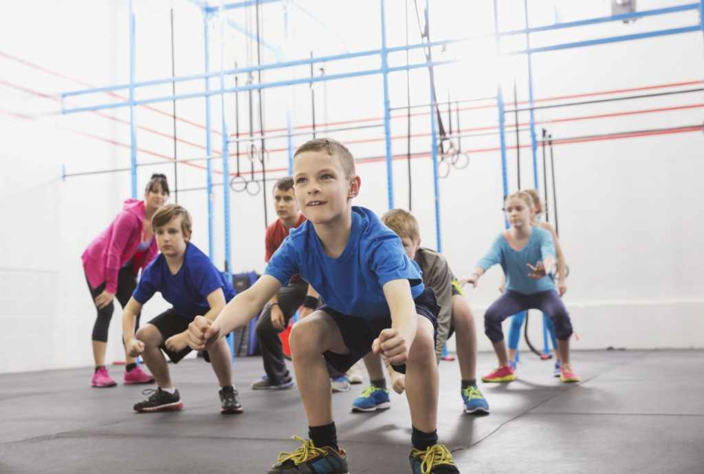 Activities in gym for toddlers