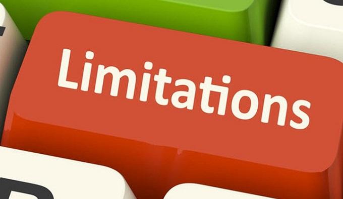 Limitations of Ameritrade application