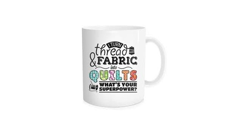 Sewing Merchandise Coffee Mug